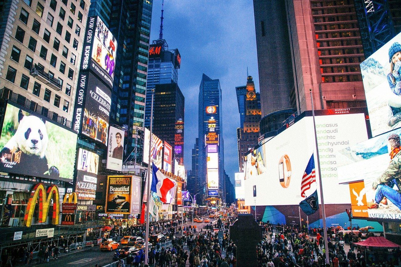 Times Square's socially distant New Year's Eve will incorporate virtual elements