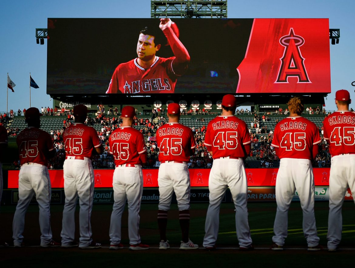 Ex-Angels official indicted in connection with pitcher Tyler Skaggs' death