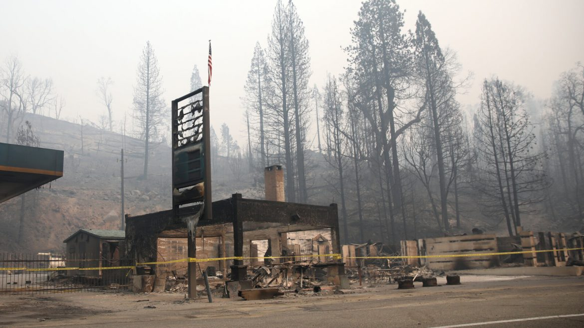 Trump administration rejects California's request for wildfire relief