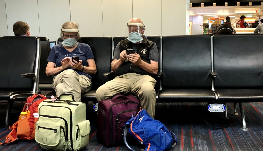 US CDC releases 'strong recommendation' for face mask mandate on trains, airplanes