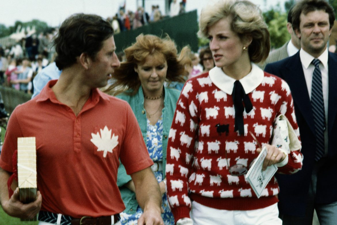 Princess Diana's iconic 'Black Sheep' sweater is back